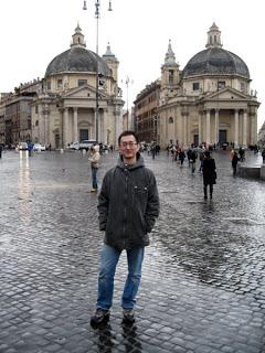 Jack in Piazza di Popolo