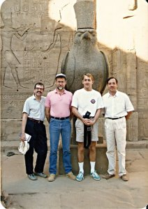 On tour in Egypt