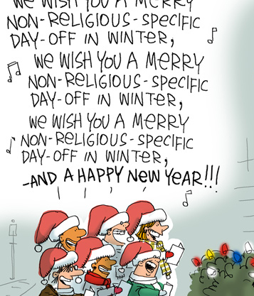 Christmas Humour – Willy Or Won\'t He