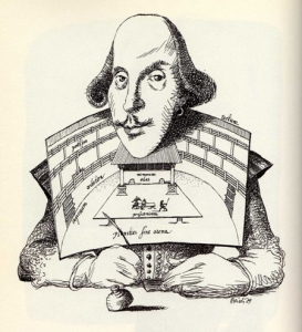 Shakespeare-Caricature