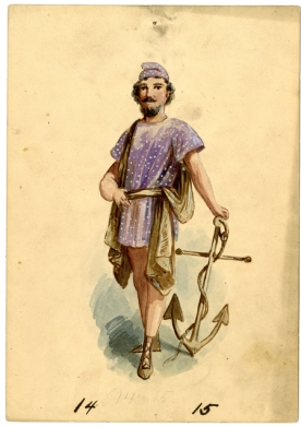 Maine - costume 14-15