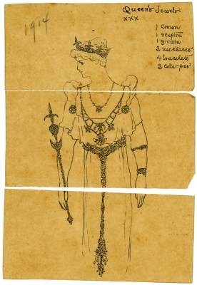 Regalia for the Queen of Comus